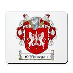 O'Finnegan Family Crest Mousepad