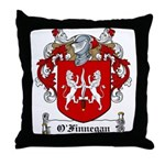 O'Finnegan Family Crest Throw Pillow