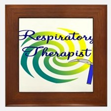 Respiratory Therapy III Framed Tile