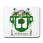 O'Flanagan Family Crest Mousepad