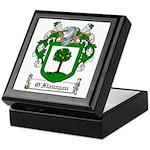 O'Flanagan Family Crest Keepsake Box