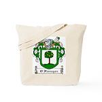 O'Flanagan Family Crest Tote Bag