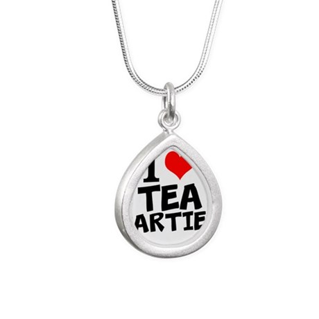 I Love Tea Parties Necklaces