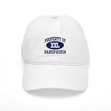 Property of barophobia Baseball Cap