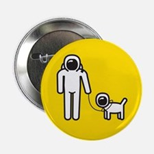 "Live life in space 2.25"" Button"