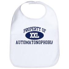 Property of automatonophobia Bib