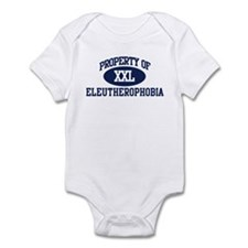 Property of eleutherophobia Infant Bodysuit