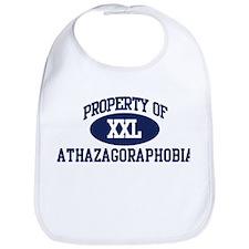 Property of athazagoraphobia Bib