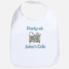 Party at Jake's Crib Bib