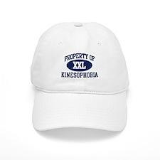 Property of kinesophobia Baseball Cap