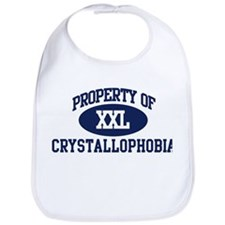 Property of crystallophobia Bib