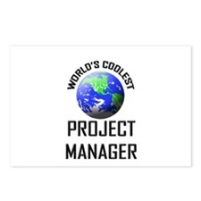 World's Coolest PROJECT MANAGER Postcards (Package