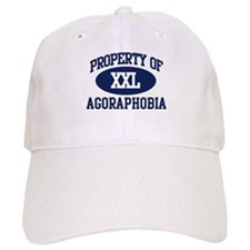 Property of agoraphobia Baseball Cap