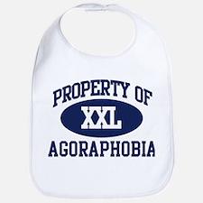 Property of agoraphobia Bib