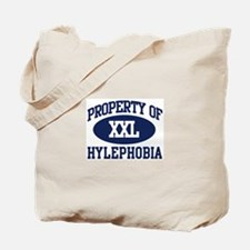 Property of hylephobia Tote Bag