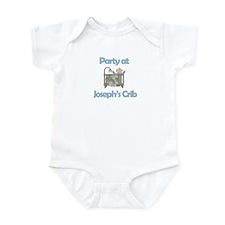 Party at Joseph's Crib Infant Bodysuit