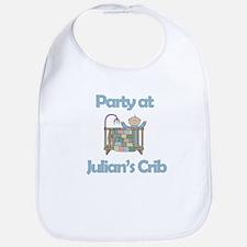 Party at Julian's Crib Bib
