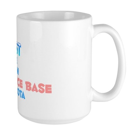Coolest: Minot Air Forc, ND Large Mug