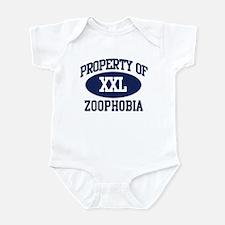 Property of zoophobia Infant Bodysuit