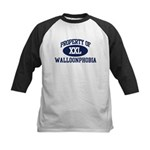 Property of walloonphobia Kids Baseball Jersey