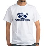 Property of walloonphobia White T-Shirt