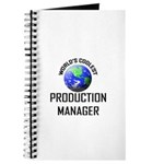 World's Coolest PRODUCTION MANAGER Journal
