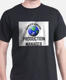 World's Coolest PRODUCTION MANAGER T-Shirt