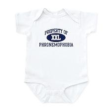 Property of phronemophobia Infant Bodysuit