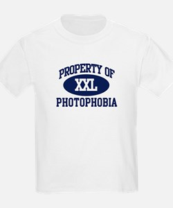 Property of photophobia T-Shirt