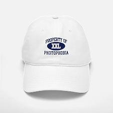 Property of photophobia Baseball Baseball Cap
