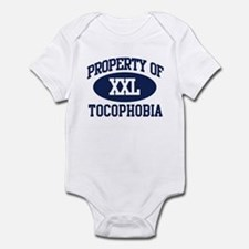 Property of tocophobia Infant Bodysuit