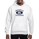 Property of tocophobia Hooded Sweatshirt