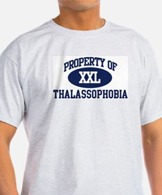 Property of thalassophobia T-Shirt
