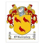 O'Gormley Family Crest Small Poster