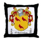 O'Gormley Family Crest Throw Pillow