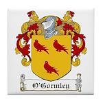 O'Gormley Family Crest Tile Coaster