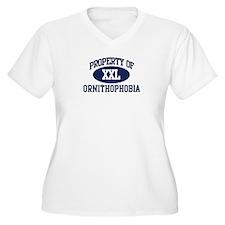 Property of ornithophobia T-Shirt