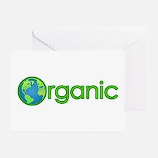 Organic Earth Greeting Card