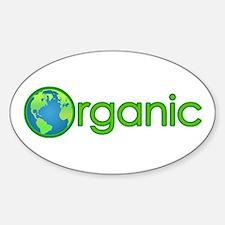 Organic Earth Oval Decal
