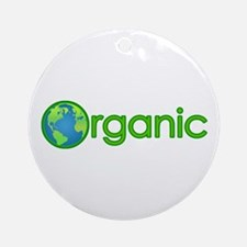 Organic Earth Ornament (Round)