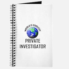 World's Coolest PRIVATE INVESTIGATOR Journal