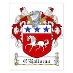 O'Halloran Family Crest Small Poster