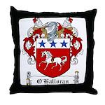O'Halloran Family Crest Throw Pillow
