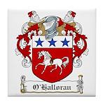 O'Halloran Family Crest Tile Coaster