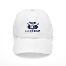 Property of siderophobia Baseball Cap