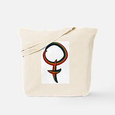 Rainbow Female Symbol Tote Bag