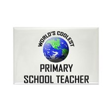 World's Coolest PRIMARY SCHOOL TEACHER Rectangle M