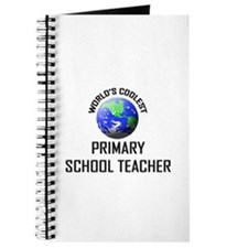 World's Coolest PRIMARY SCHOOL TEACHER Journal