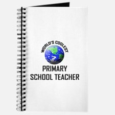 World's Coolest PRIMARY SCHOOL TEACHER Journal