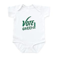 """Vote Green"" Infant Bodysuit"
